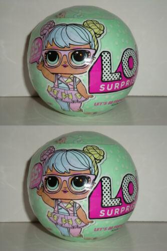 2 BALLS WAVE 1 LOL SURPRISE NO DUPLICATES SERIES 2 UPC 035051548430 *NEW*