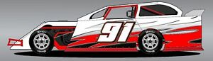 Details about Race Car Wrap, imca,4 cyl,streetstock,late  model,openwheels,graphics, wrap, ect