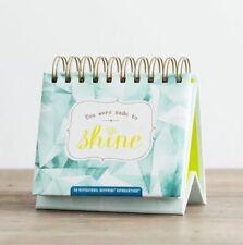 You Were Made To Shine Christian Inspirational Dayspring Perpetual Calendar