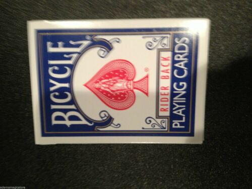 Bicycle Blank Face Blank Back Deck New