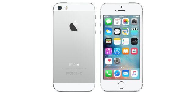 iPhone 5S  64 Go ARGENT Débloqué tout opérateur comme neuf -Vendeur PRO