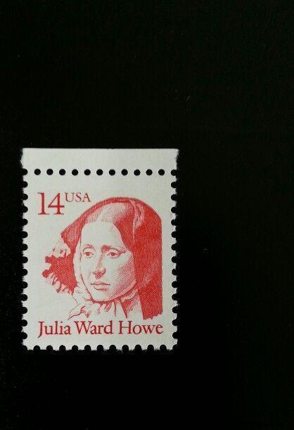1987 14c Julia Ward Howe, Poet Scott 2176 Mint F/VF NH