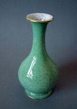 Porzellan Vase Rosenthal Kunstabteilung Art Deco Craquelee Gold 1938 handpainted