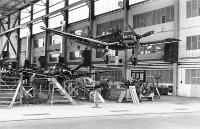 WW2 Photo WWII German Junkers Ju87 Stuka Production Line World War Two 2520