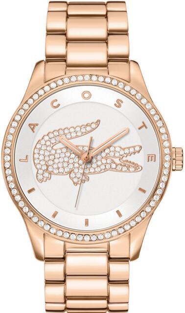 Lacoste 2000828 Ladies' Victoria Gold Bracelet Designer water resistant Watch