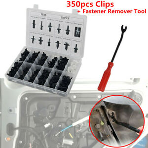 350PCS-Clips-Car-Body-Nylon-Push-Pin-Rivet-Trim-Fastener-Screwdriver-Remover-Kit