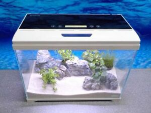 Aquaristikwelt at a nano acquario display touch per