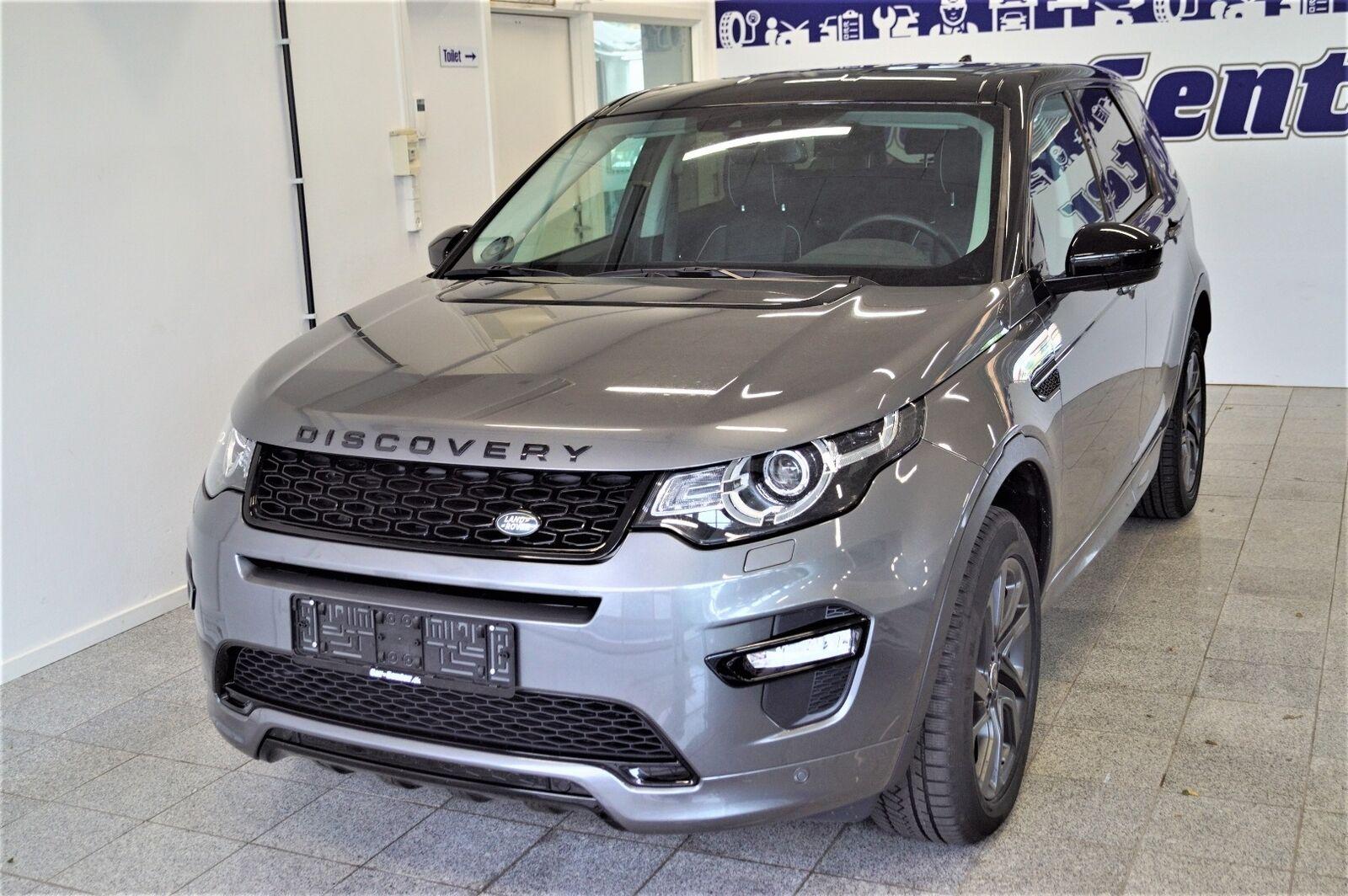Land Rover Discovery Sport 2,0 TD4 180 SE aut. 5d - 549.900 kr.