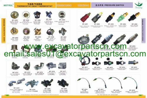 Solenoid Valve Coil 24VDC for Doosan Daewoo DH300-5 300-5 Excavator