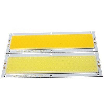 30W COB LED Chip DC12V Warm / Pure White 140x50mm for DIY Lamp Light