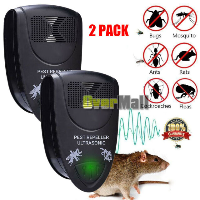 4 Pcs Anti Pest Bug Mosquito Repeller Ultrasonic Electronic Insect rat control