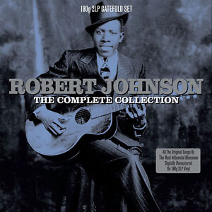 Robert-Johnson-COMPLETE-COLLECTION-180g-GATEFOLD-Best-Of-29-Songs-NEW-VINYL-2-LP