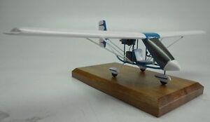 Scepter-Slipstream-Ultra-Light-Airplane-Desk-Wood-Model-Small-New