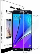 For Samsung Galaxy  Note 5 Tempered Glass Screen Protector Anti-Scratch Sheild