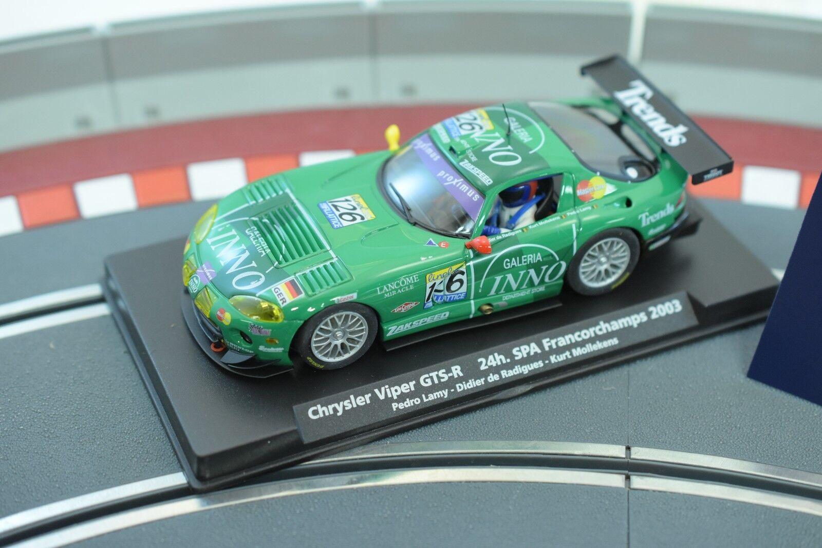 88154 FLY CAR MODELS 1 32 SLOT CARS CHRYSLER VIPER GTS-R 24H. SPA 2003 A-209