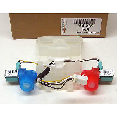 W10144820 Whirlpool Washer Water Valve w/ Thermistor AP4371093 PS2347919