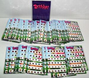 ZOOBLES-FUN-PACKS-BULK-LOT-OF-50-STICK-ON-EARRINGS-GREAT-PARTY-FAVORS-36-PER