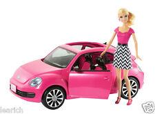 Muñeca Barbie Volkswagen Escarabajo Y Exclusivo