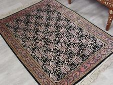110x97 cm schöne handgeknüpften Kaschmir-seide Teppich kashmir-Silg rug No:80
