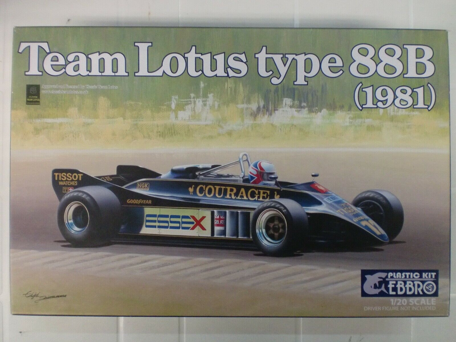 EBBRO 1 20 - kit  TEAM LOTUS TYPE 88B 1981