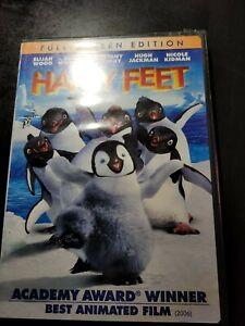 New-Sealed-Happy-Feet-Full-Screen-Edition-DVD