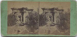 Baalbek-In-Libano-Stereo-Vintage-albumina-ca-1870