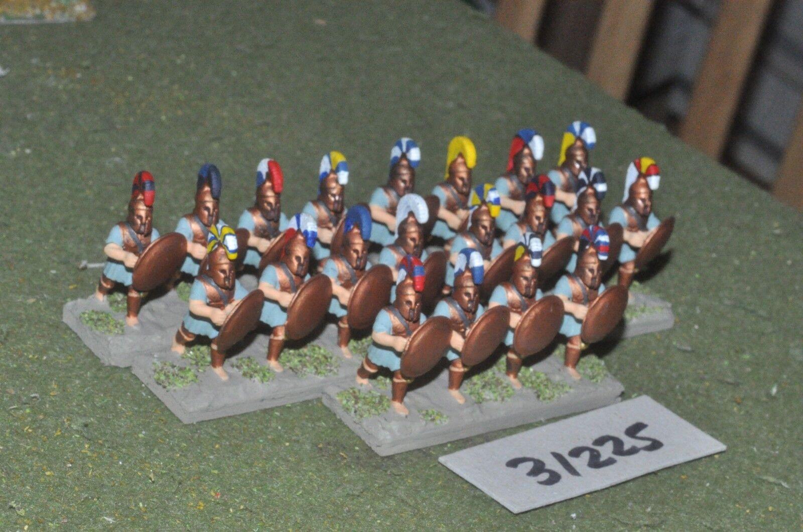 25 mm Classique grec-Hoplites 20 figures-INF (31225)