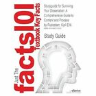 Studyguide for Surviving Your Dissertation: A Comprehensive Guide to Content and Process by Rudestam, Kjell Erik, ISBN 9781412916790 by Cram101 Textbook Reviews (Paperback / softback, 2013)