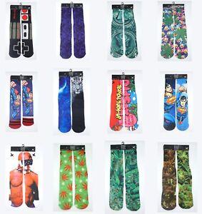 New Odd Sox Game Boy Classic Crew Socks Multi Color Streetwear One size 6-13