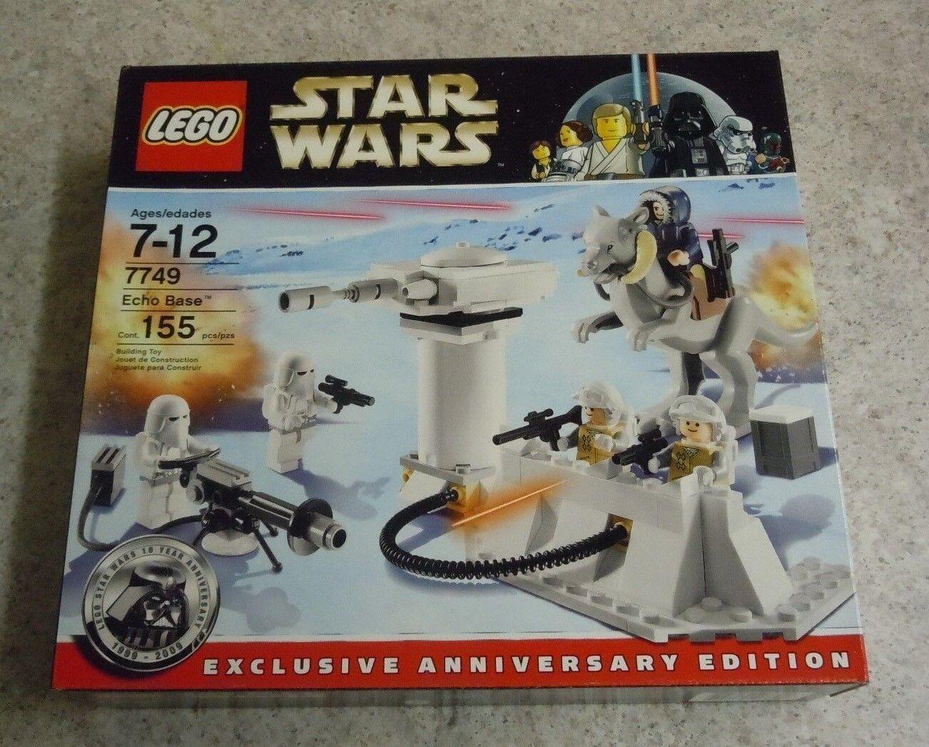 LEGO Star Wars Echo Base Set 7749 New Tauntaun Snowtrooper Hoth Solo Minfigs