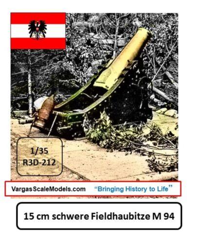 Meng ICM Takom Dragon Hobby 1//35 WW1 15cm schere Fieldhaubitze mortar//howitzer