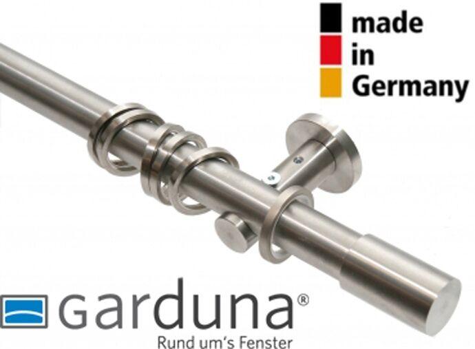 GARDUNA Gardinenstange ROLLER, Echt Edelstahl, Ø 20 20 20 mm - MADE IN GERMANY f36568