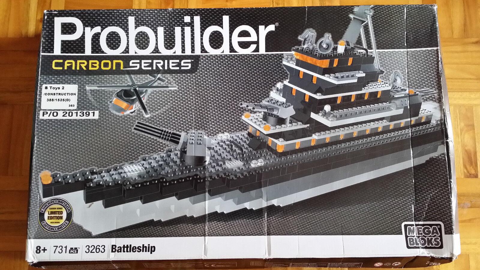 Mega Bloks Probuilder Battleship 3263 muy difícil de conseguir