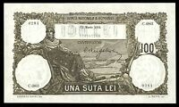 v964 ROMANIA 100 LEI 31 march 1931 BANKNOTE P#33 UNC