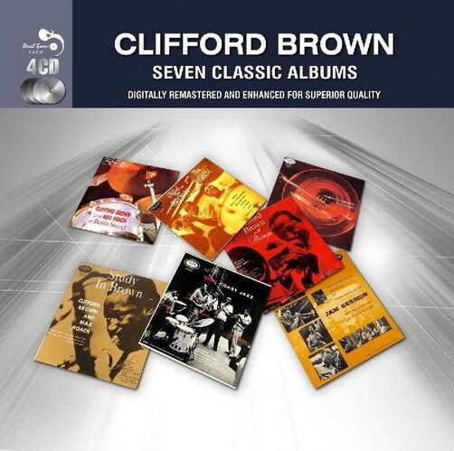 Clifford Brown SEVEN CLASSIC ALBUM (Digital Remastered) 4 CD Set Real Gone Jazz