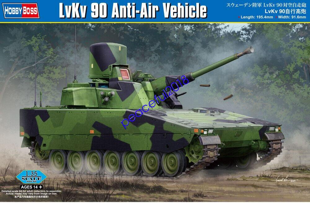 HobbyBoss 84507 1/35 Lvkv 9040 Anti-air Vehicle Plastic Model Armor Kit for sale online   eBay