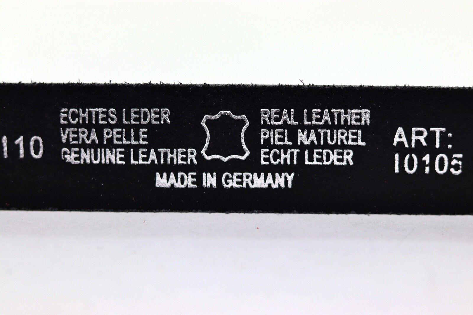 Ledergürtel Weiß Echtleder Rindleder Jeansgürtel Herren Damen 100% echt