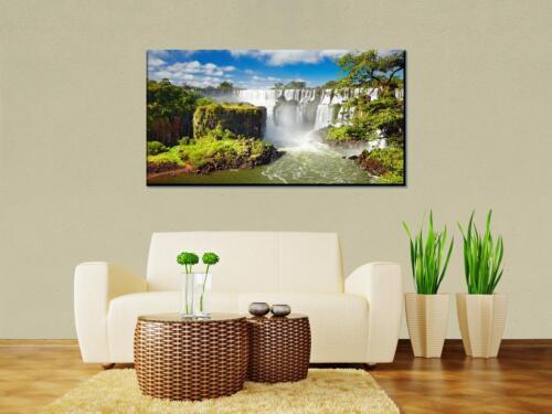 Leinwandbild Iguazzu Falls Argentinien Panoramabild Kunstdrucke M0284