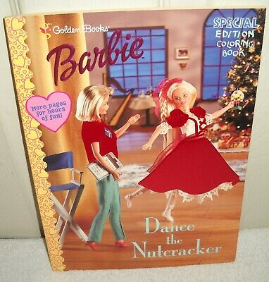 10555 Golden Books Barbie Dance The Nutcracker Coloring Book Special Edition Ebay