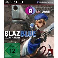 Ps3 gioco BlazBlue BLAZ BLUE CALAMITY TRIGGER NUOVO