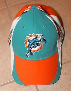 846fefa68be7a6 Image is loading NFL-Miami-Dolphins-Sideline-Hat-Reebok-L-XL
