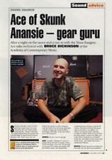 Skunk Anansie Ace UK 'Guitarist' Interview Clipping CORPORATE