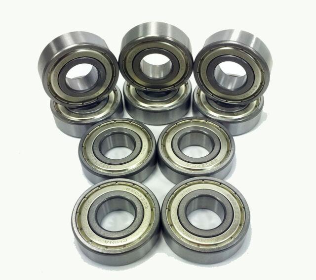 "R12z R12-ZZ Premium Shielded Ball Bearing Lot of 2 PCS 3//4/""x1-5//8/""x7//16/"""