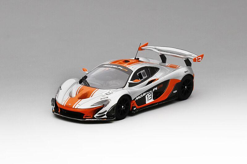 TRUESCALE TSM430124 - MCLAREN P1-GTR  13 2015 Argent Orange  1 43
