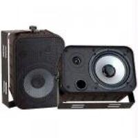 Pyle Home 6.5-inch Indoor/outdoor Waterproof Speakers, Black, Pdwr50b, on sale