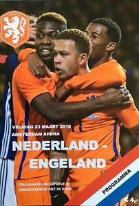 NETHERLANDS-V-ENGLAND-FRIENDLY-2018-19