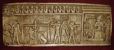 Ancient Egyptian Anubis Judgement Day of Judgment Pharoah Art Decor