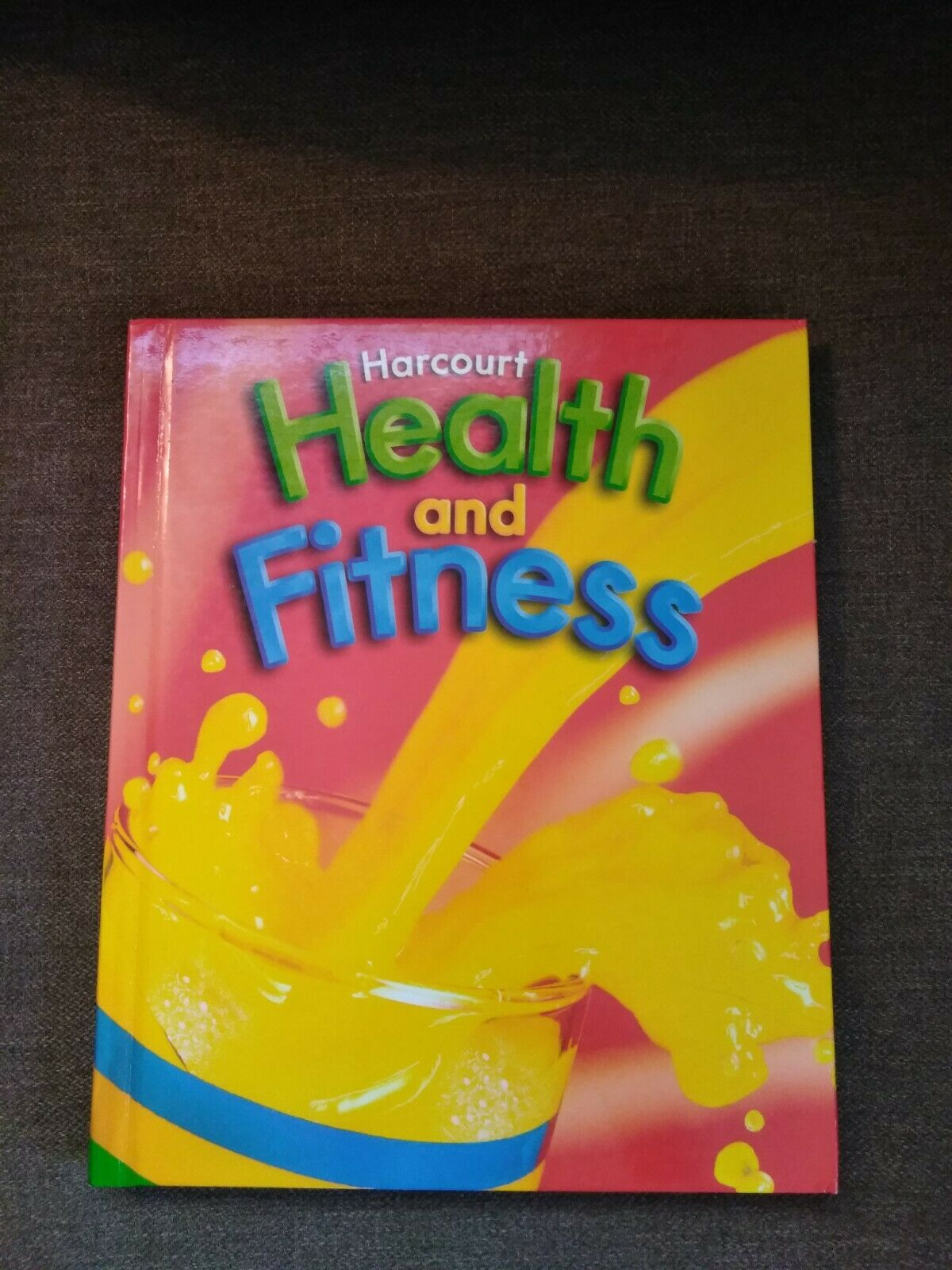Harcourt health and fitness 2nd grade great condition 1