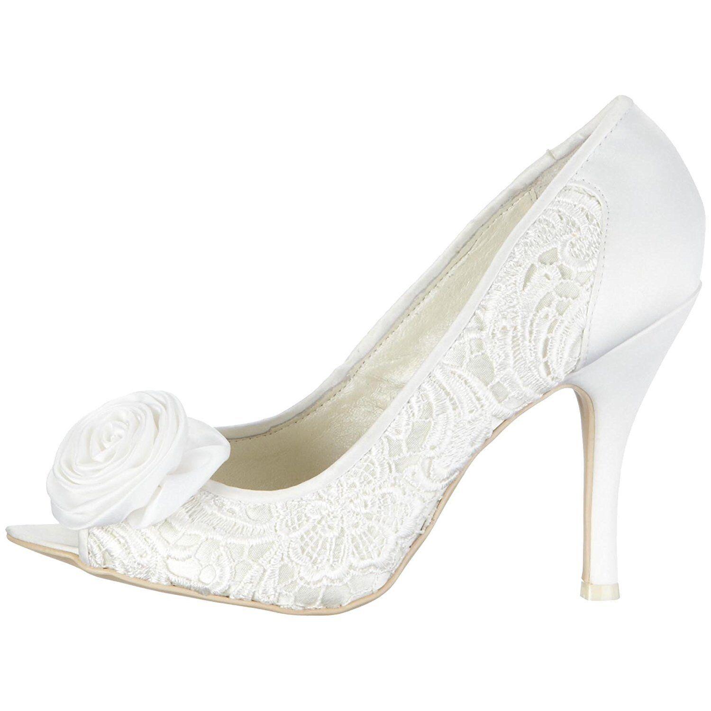 PVP  MENBUR Maria tamaño 6 39 Marfil Encaje Satén Zapatos Corsage Nuevos Zapatos Satén De Novia 297758