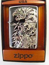 Zippo® Mother of Pearl Perlmutt  Tiger  ovp in kleiner Magnet Holzbox Neu / New